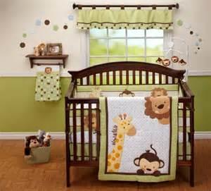 Jungle Animal Crib Bedding Giraffe Baby Bedding For Cribs