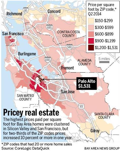 modest bay area homes hit mind boggling prices the