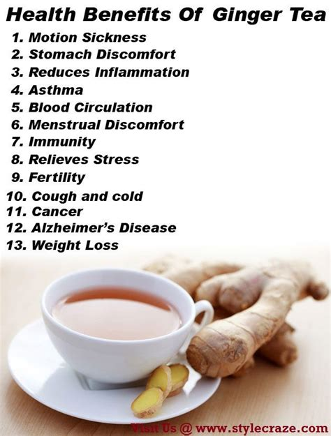 ginger tea before bed 20 best ideas about benefits of ginger tea on pinterest