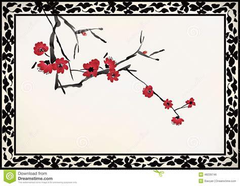 frame design bg chinese window frame stock vector image 48239746
