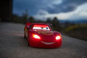 Car Lighting Mc Drive Lightning Mcqueen Irl With Just A Phone The