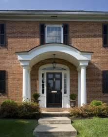 colonial front door designs colonial front doors with storm door in front of it of the