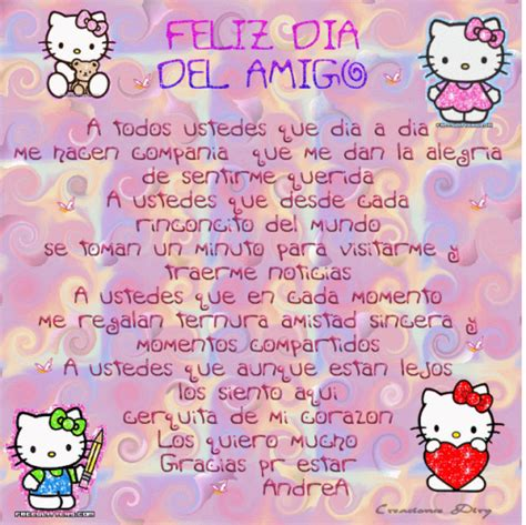 imagenes hello kitty movibles im 225 genes lindas para el d 237 a del amigo