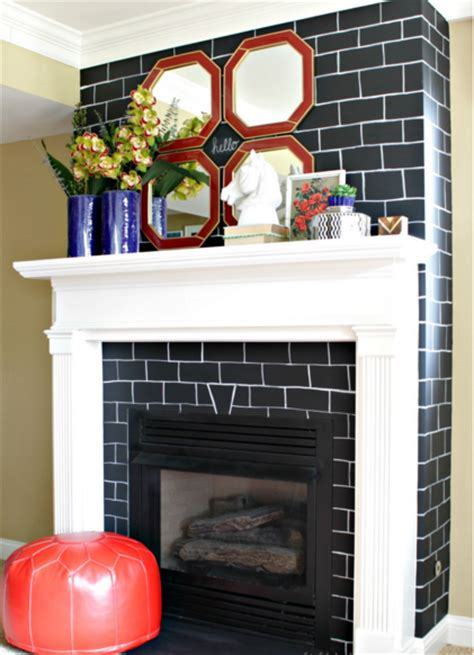 12 brick fireplace makeover ideas to update your