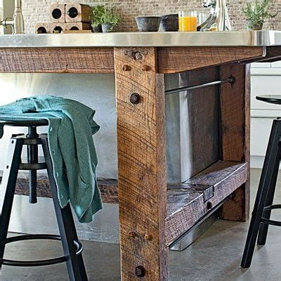 Wood And Stainless Steel Kitchen Island by The World S Catalog Of Ideas