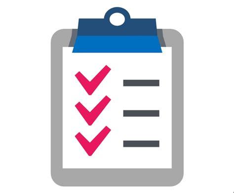 list clipart checklist clipart world of exle