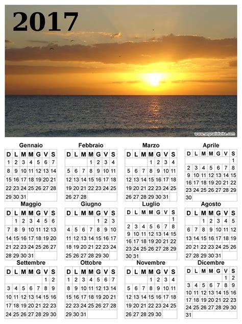 Calendario 2017 Con Calendari Da Scaricare Con Foto 2017