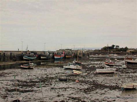 porto bretagna porto roscoff a bassa marea bretagna francia