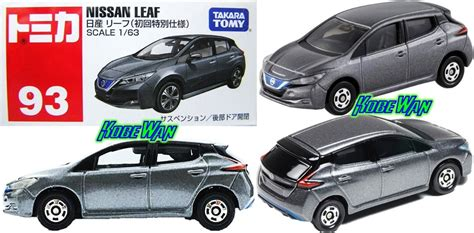 tomica nissan leaf tomica 1 63 nissan leaf ltd metalico takara carro