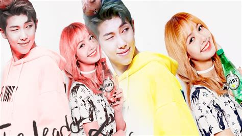 blackpink leader rap monster lisa bts blackpink the leader and the maknae