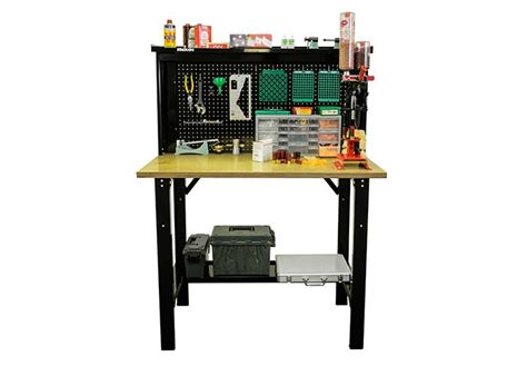 stack on reloading bench review stack on offers a new reloading bench the firearm