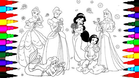 princess mighty friends coloring book a book to color books disney princess cinderella moana drawing
