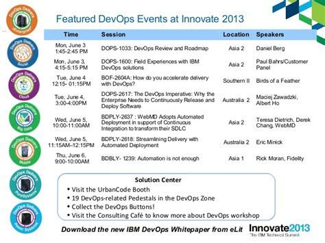 Ibm Innovate 2013 Session Devops 101 Devops Roadmap Template