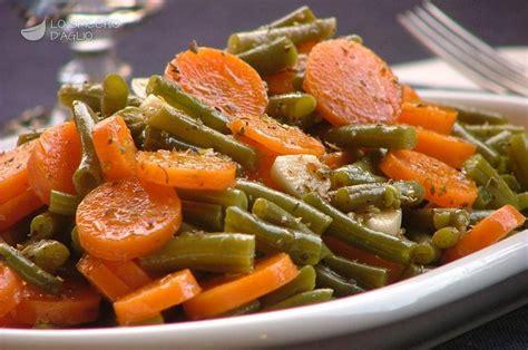 cucinare carote lesse ricetta carote e fagiolini all origano le ricette