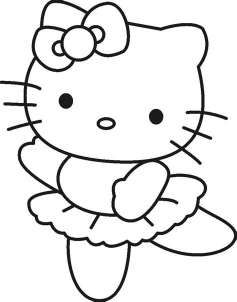 coloring page hello kitty ballerina nice hello kitty ballerina coloring pages coloring pages