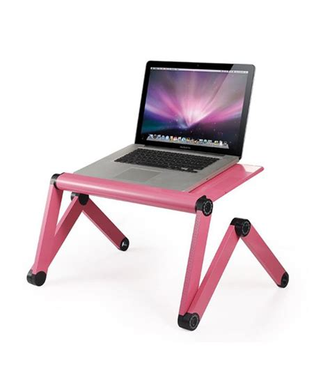 Pink Laptop Desk Folding Aluminum Laptop Desk Pink Buy Folding Aluminum Laptop Desk Pink At Best