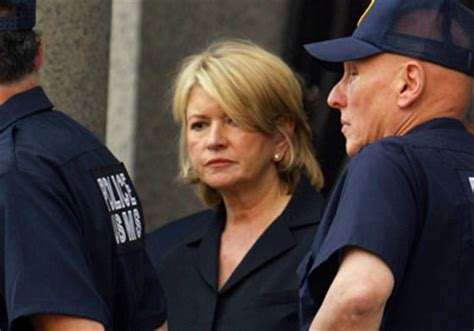 Martha Stewart Criminal Record In Pictures White Collar Criminals Bars