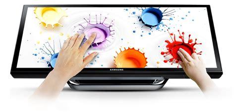 Monitor Led Touchscreen 24 ls24c770ts hd 280cd m 178 touchscreen led monitor samsung uk