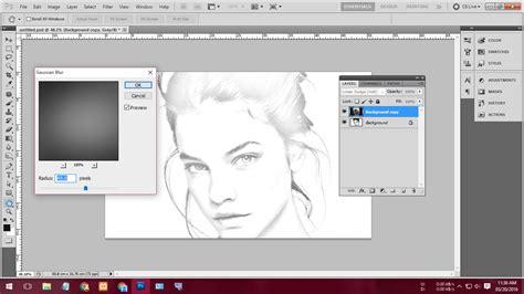 langkah membuat video tutorial langkah mudah membuat gambar sketsa pensil dari foto biasa