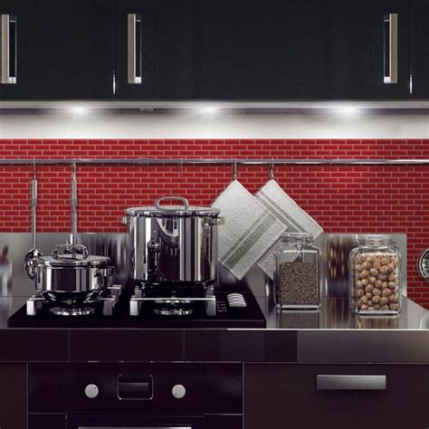 peel and stick backsplash tile with contemporary moroccan royllent modern metal aluminum mosaic brushed type