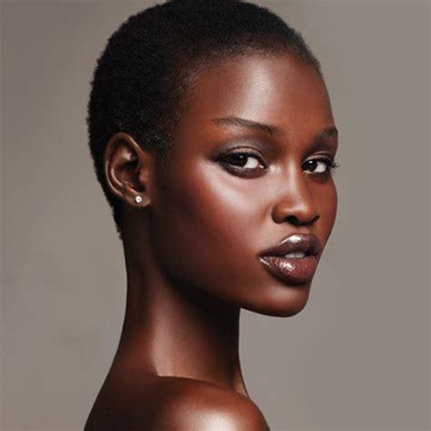 type of hair style tan skin very dark black models foundation finder by skin tone
