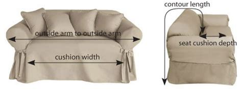 how to measure couch for slipcover tips on making your own chair and sofa slipcovers step