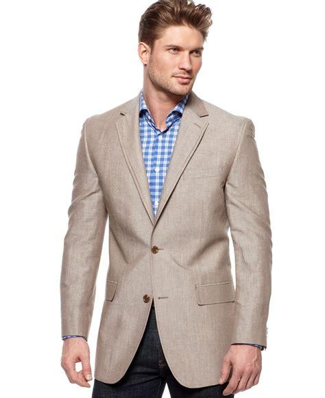 hairstyle on blazer michael kors jacket solid linen blazer mens blazers