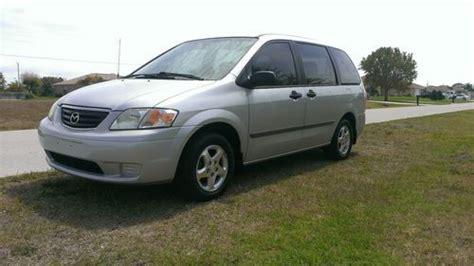 how does cars work 2001 mazda mpv user handbook buy used 2001 mazda mpv lx no reserve in cape coral florida united states