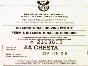 international motor traffic international driving permit international drivers license south africa all airport