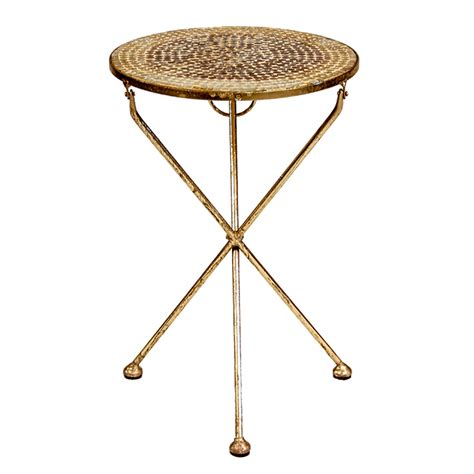 mosaic accent table mosaic round accent table peter corvallis productions