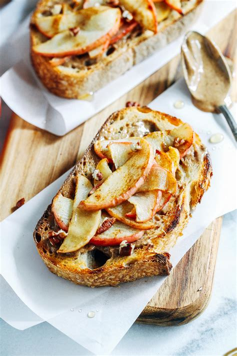 gingered apple  almond butter toast  giveaway