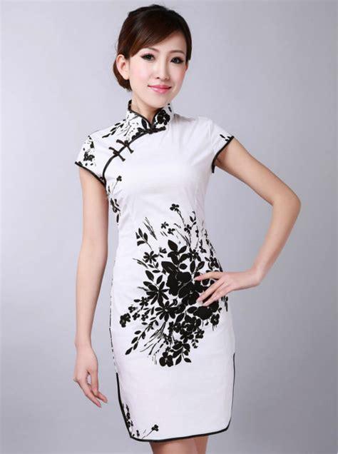 25417 White Cheongsam Size S modern cheongsam dress buy modern cheongsam dress modern dresses cheongsam dress