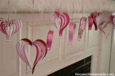 valentines paper crafts and easy decorations diyready easy