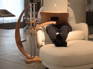 Lazy Boy Computer Desk Lounge Wood The Innovative Laptop Support That Allows