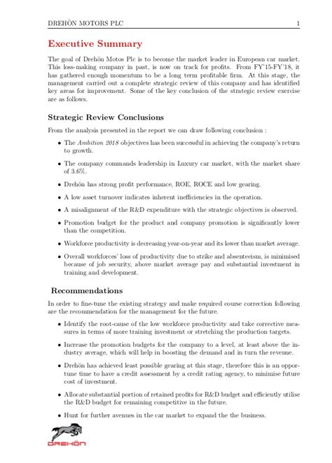 Annual Summary Report Template A Exle Of Annual Report