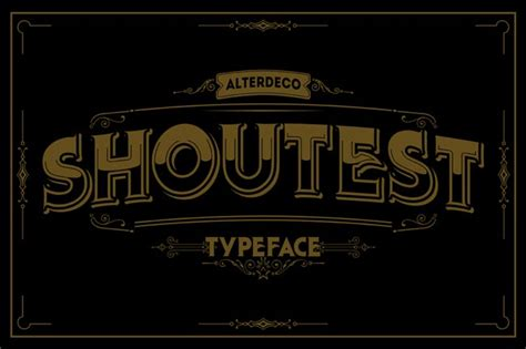Kaos Ashter Terate Free Stiker 10 fantastic high quality fashioned vintage fonts only 17 mightydeals