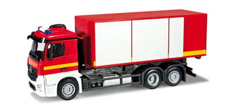 Truck Mercedes Actros M Recycle Skala 1 87 Majorette Diecast mercedes antos m truck herpa 090599
