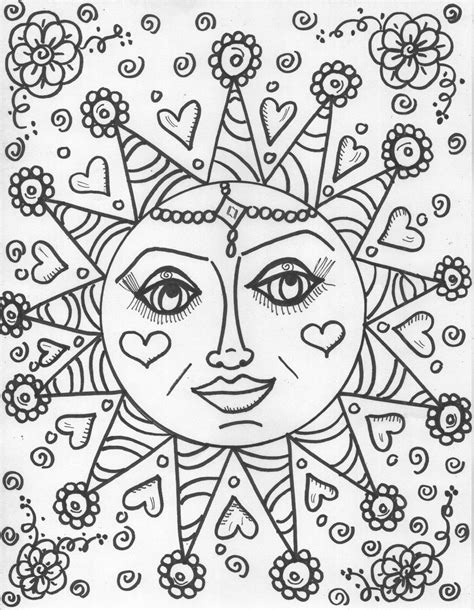 cool hippie coloring pages az coloring pages