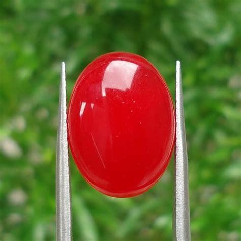Batu Raja Merah Darah batu giok merah dunia pusaka sakti