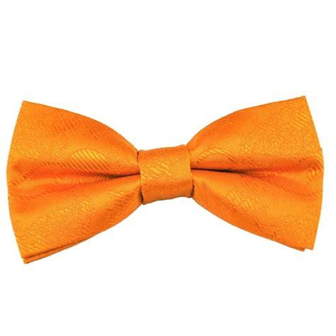orange patterned ties orange paisley patterned boys bow tie from ties planet uk