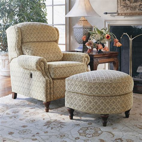 Saugerties Furniture Mart by Smith Brothers 932 Tilt Chair And Ottoman Saugerties