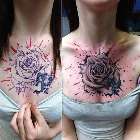 tattoo cover up care creative coverup tattoo ideas that are borderline genius