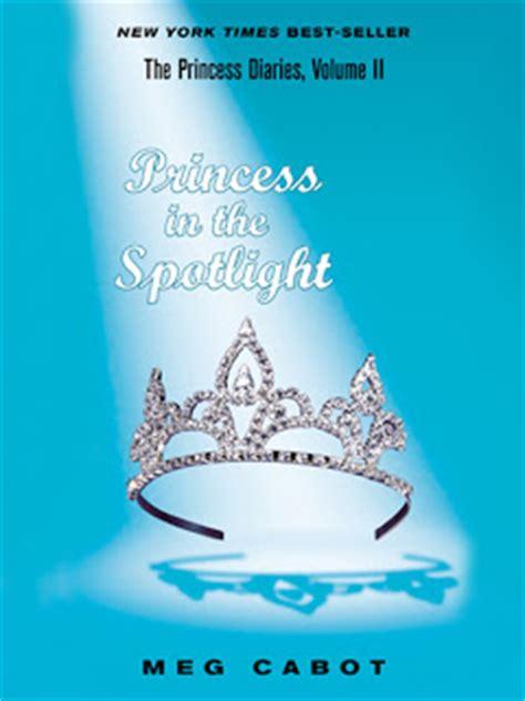 Spotlight Meg Cabot 100 books 281 days princess in the spotlight by meg cabot