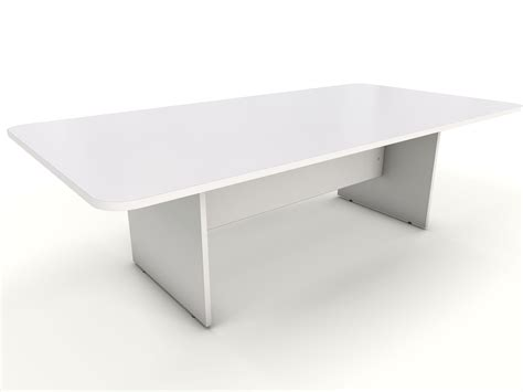White Meeting Table White Office Furniture Icarus Office Furniture