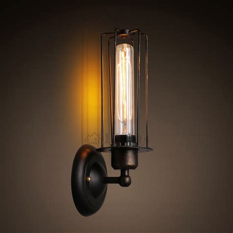 industrial wall sconce vintage industrial wall light wrought iron wall sconces