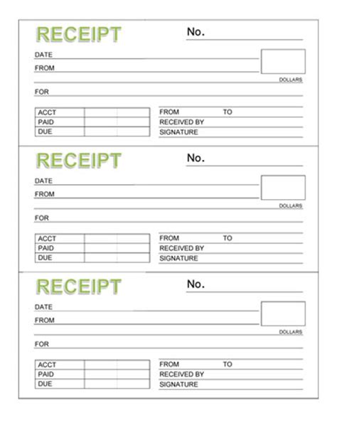 receipt template excel 2010 book template category page 1 odavet
