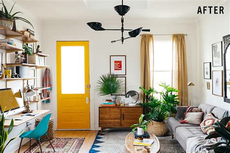 Home Decor Ideas On A Budget Blog colorful decorating ideas for small living room