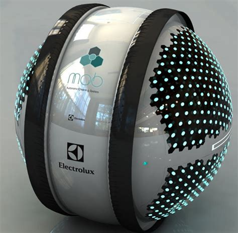 electrolux design contest mab robots housecleaning innovation nanotechnology bill chamberlin