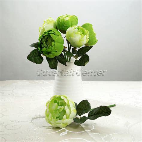 aliexpress buy 6pcs silk artificial flower iris sale 6pcs bunch bouquet bridal bridesmaid silk flower garden home wedding decor