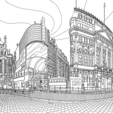 secret garden coloring book ny times fantastic cities by steve mcdonald metalocus